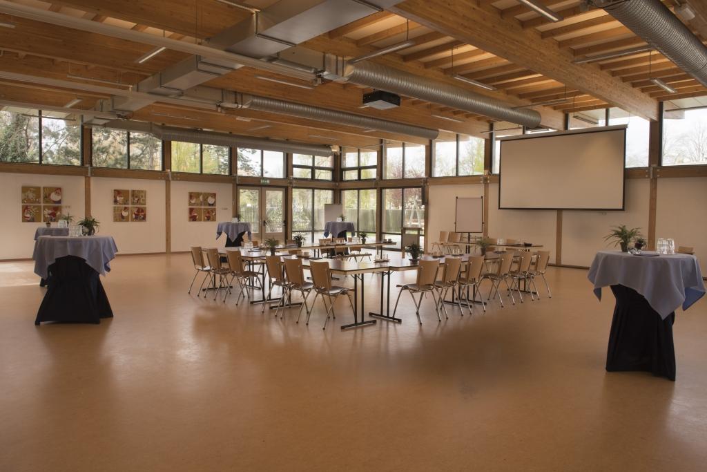 Foto van de Grote Zaal congrescentrum Mathildepaviljoen - zalen en prijzen hier te vinden